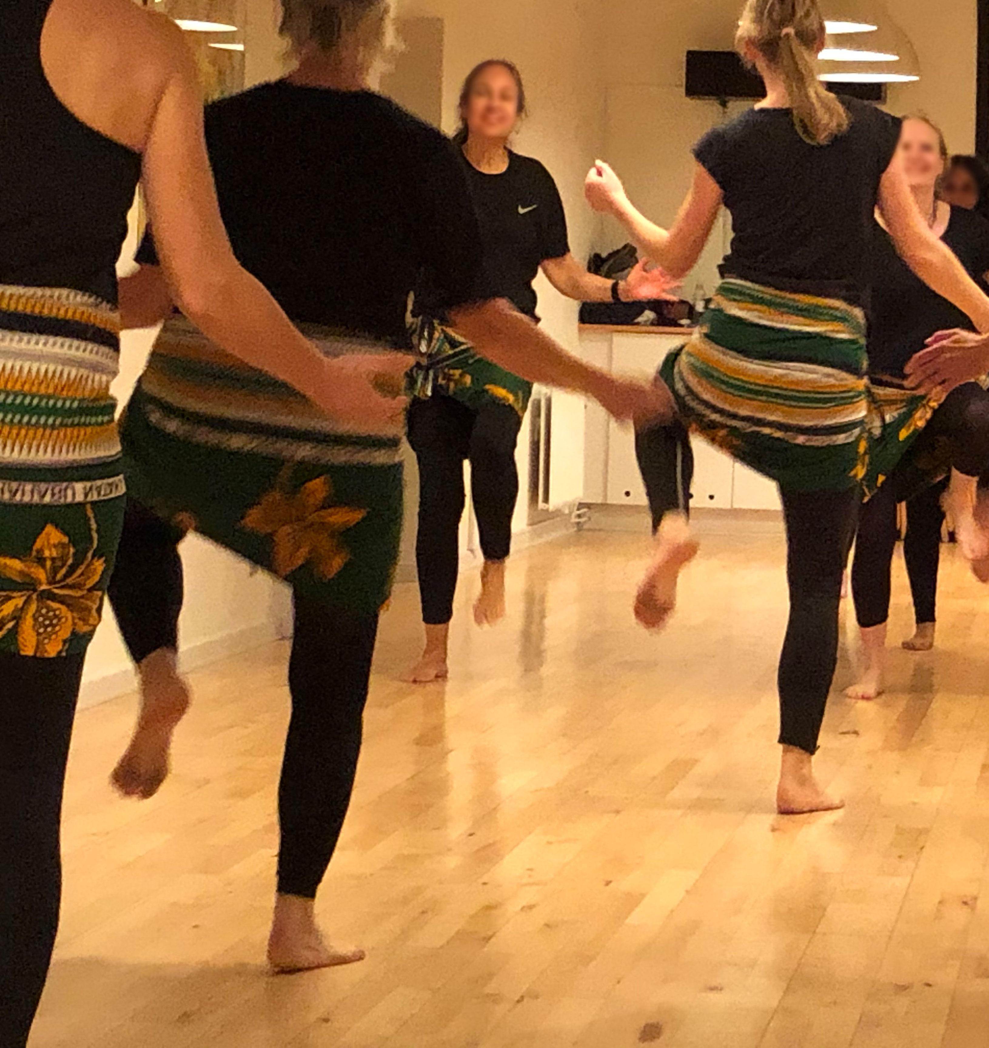 Vestafrikansk dans