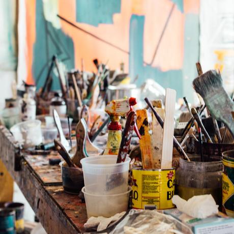 Malergruppen Blå time